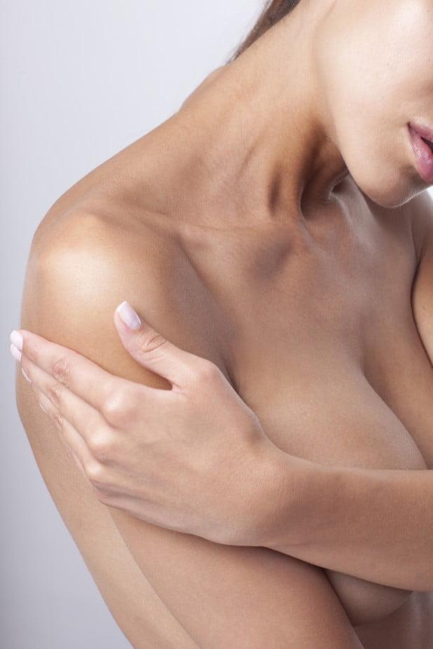Scarless breast augmentation