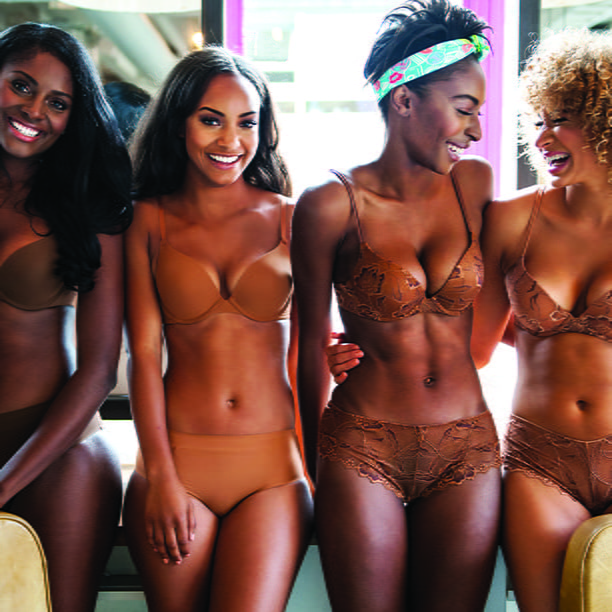 "Frustrated with ""Nude"" Lingerie? You May Want to Check Out This Line"